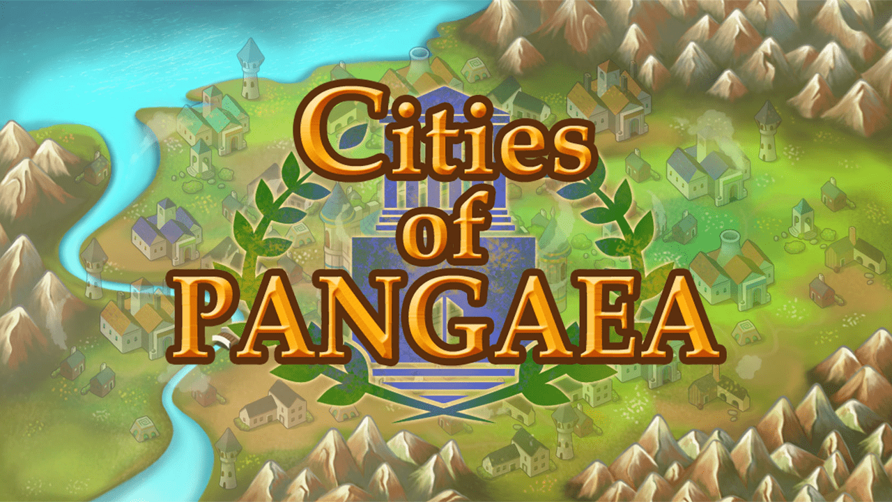 screenshot Cities of Pangaea education game main title
