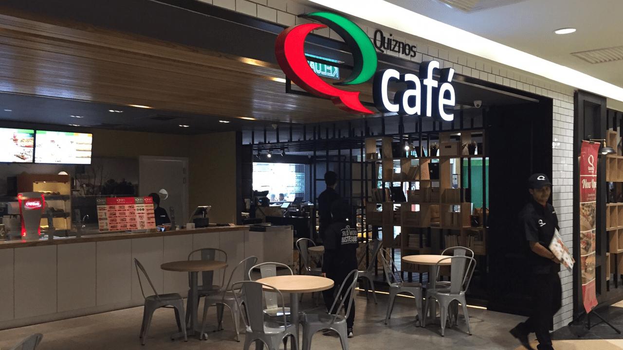 screenshot Quiznos cafe using O R C A