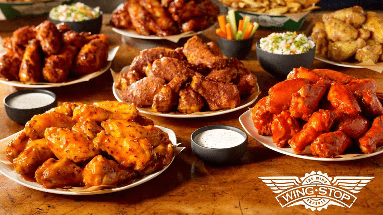 screenshot Wingstop products