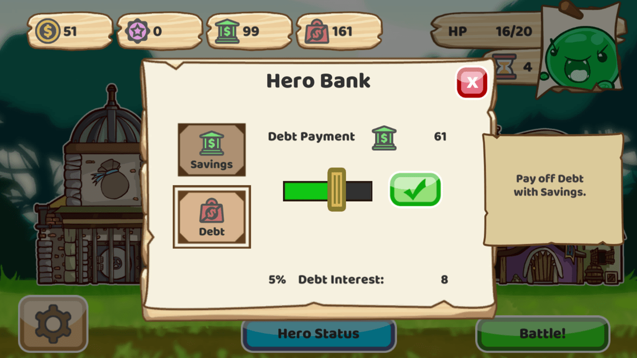 Monsters of the Debt GIC Game Image 3