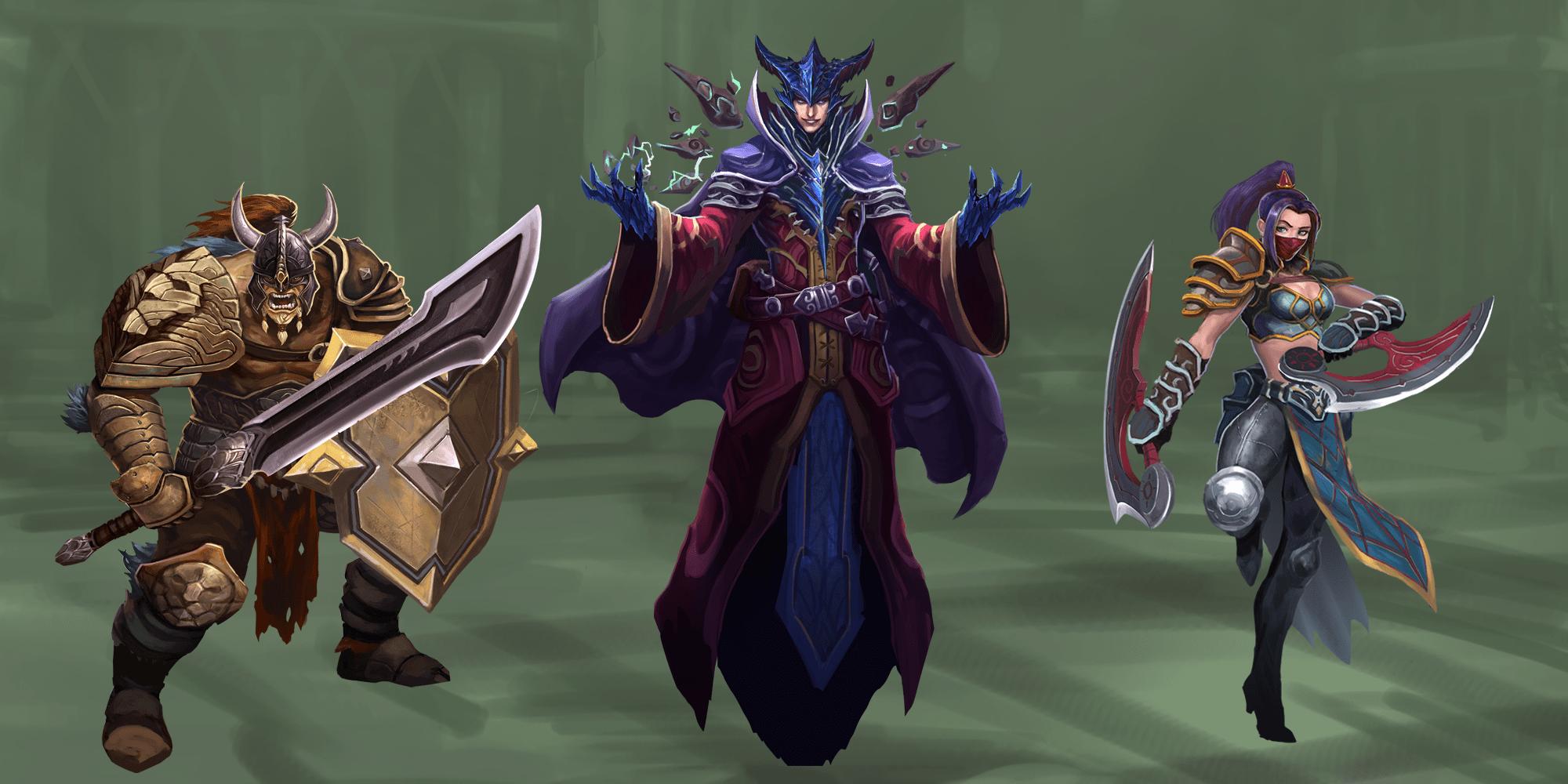 Camelot Legends Characters Art