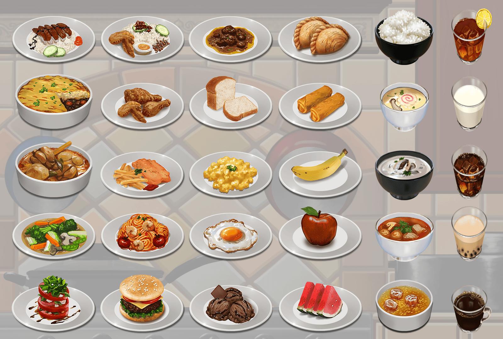 Nutri-Chef Meals Art